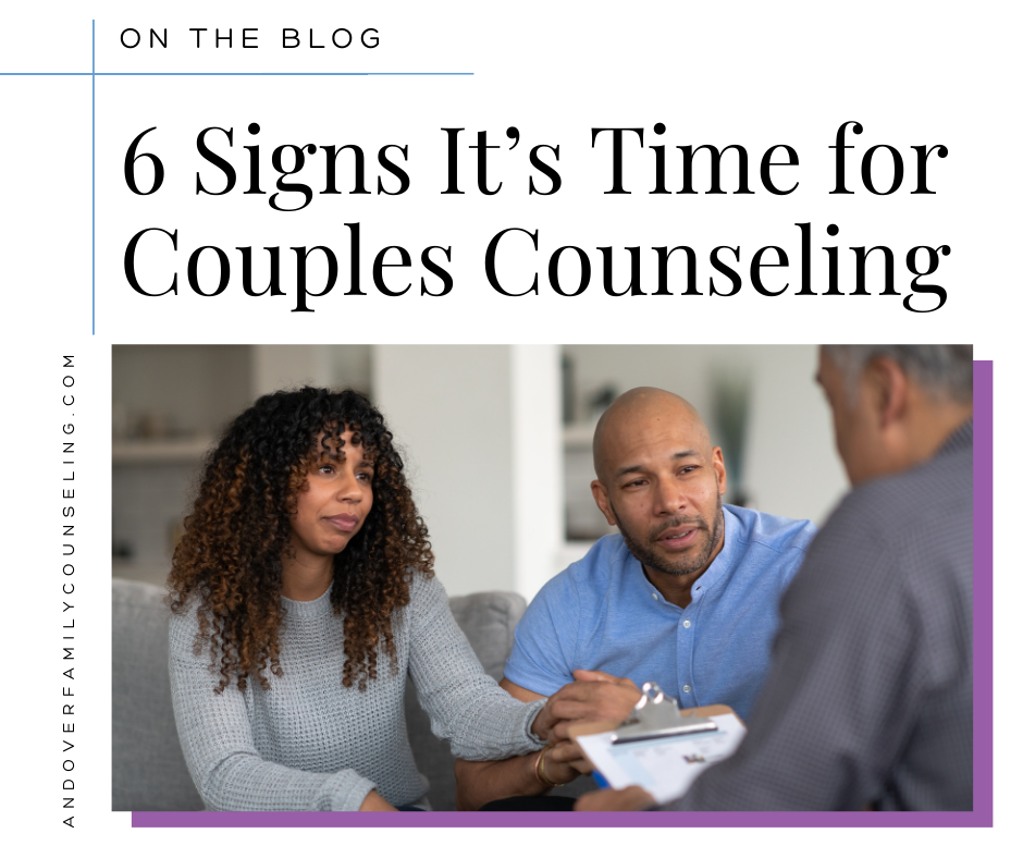 6 Signs It's Time For Couples Counseling
