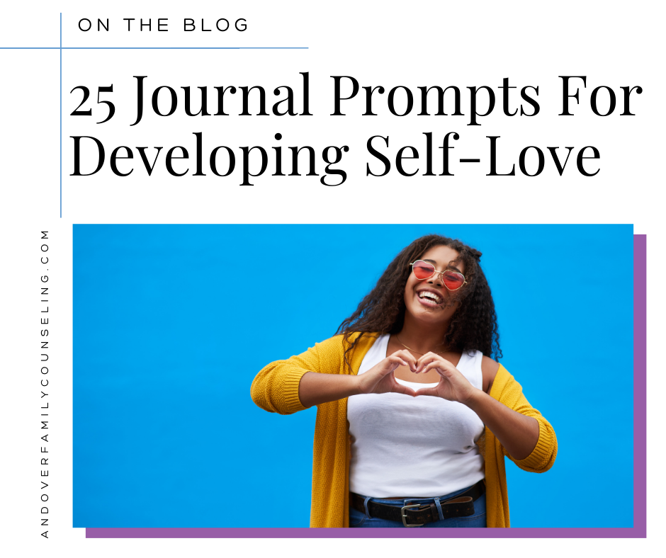 25 Journal prompts for developing self-love