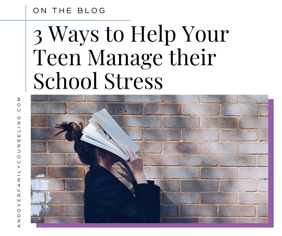 3 Ways to Help Your Teen Manage their School Stress